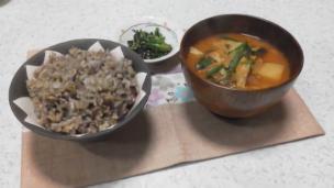 雑穀の食卓