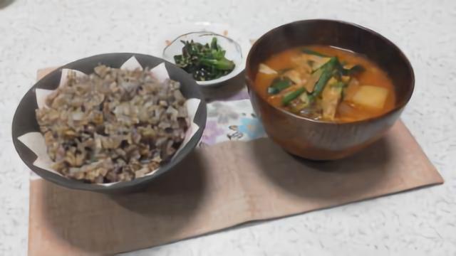 玄米の食卓