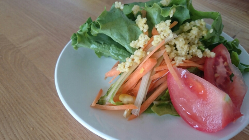 雑穀は料理にも使えます。きびを使って栄養価アップ!
