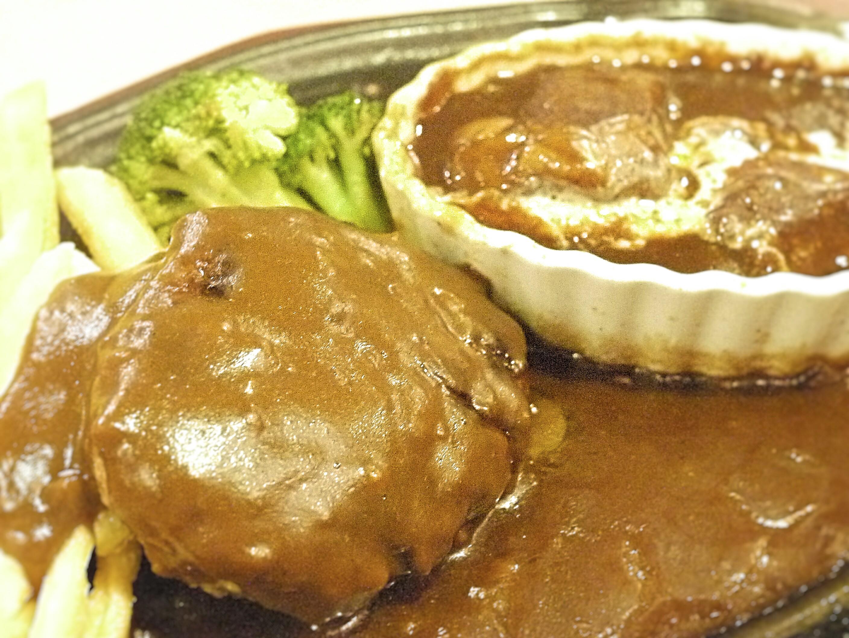 ランチに洋食を食べた日の、家の食事は?