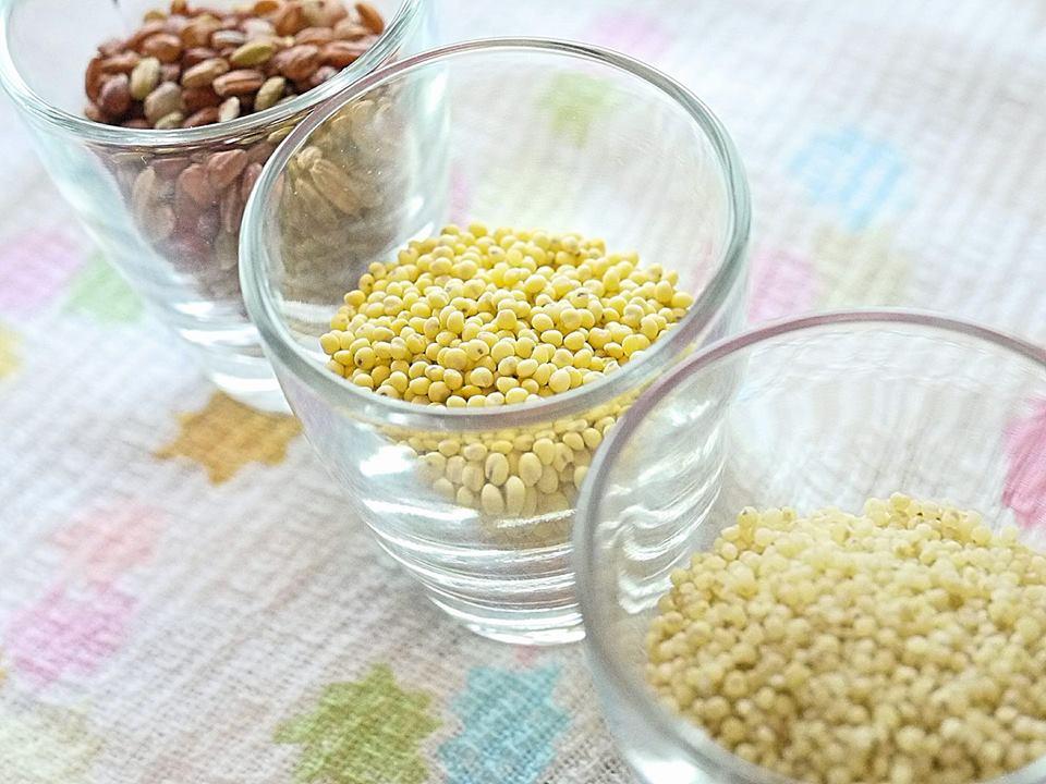 こんなに手間暇かけている!食べるなら品質の良い美粒の雑穀を♪